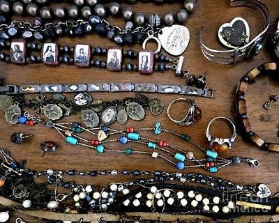 Wood Necklace Photograph - Jewelry Box by Patricia Januszkiewicz