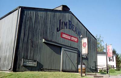 Photograph - Jim Beam Distillery by Lynnette Johns