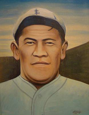 Painting - Jim Thorpe by Mark Haley