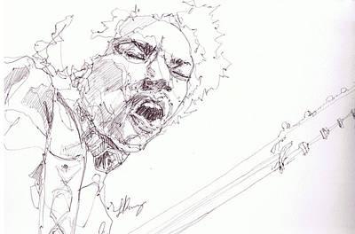 Jimi - Untouchable  Original by Bobby LeVangie