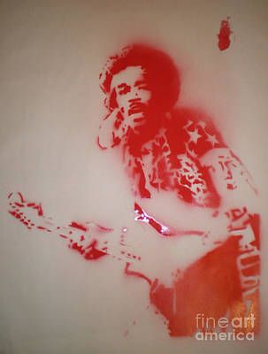 Jimi Hendriks Original by Barry Boom