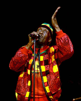 Photograph - Jimmy Cliff by Jeff Ross