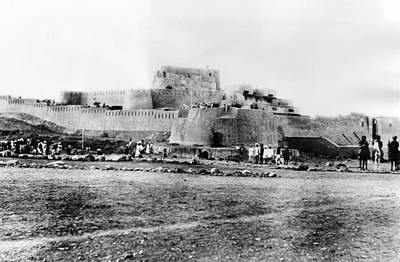 20st Century Photograph - Jimrud Fort In The Khyber Pass by Everett