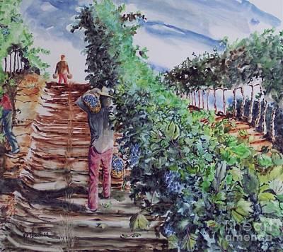 Jims Harvest Art Print
