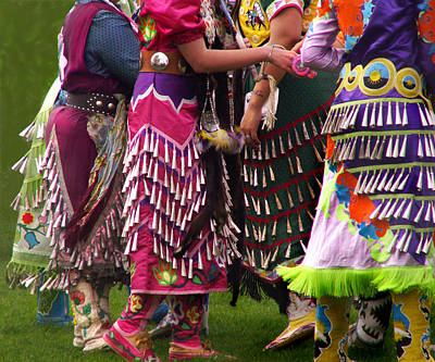 Photograph - Jingles For Jingle Dance by Nancy Griswold