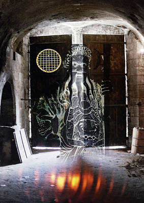 Baba Digital Art - jinn of Ali Baba by Nafets Nuarb