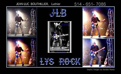 Jlb Lys Rock Poster Art Print by Danielle  Parent