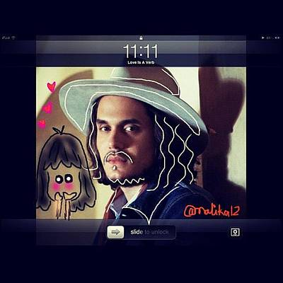 Celebrities Wall Art - Photograph - #jm #johnmayer #johnmayerfans by Malika Shrestha