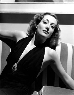 Joan Crawford, 1936, Photo By Hurrell Art Print