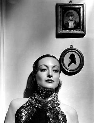 Hurrell Photograph - Joan Crawford, 62234 by Everett