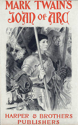 Joan Of Arc, By Mark Twain Art Print