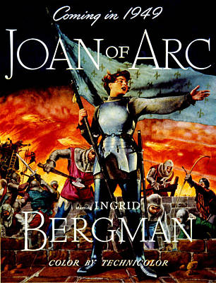 Postv Photograph - Joan Of Arc, Ingrid Bergman, 1948 by Everett