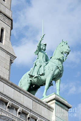 Photograph - Joan Of Arc On Horseback by Fabrizio Ruggeri