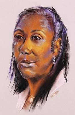 Pastel - Joann by Peggy Wrobleski