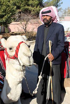 Jockey And His Camel Original by Munir Alawi
