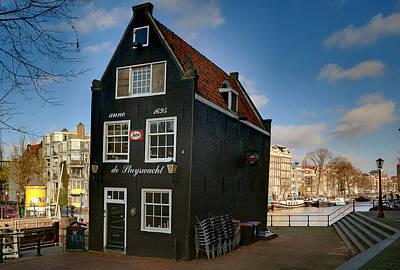 Photograph - Jodenbreestraat 1. Amsterdam by Juan Carlos Ferro Duque