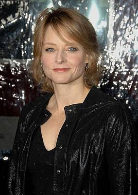 Jodie Foster At Arrivals For Edge Of Art Print by Everett
