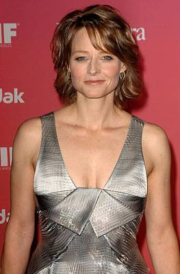 Jodie Foster At Arrivals For Women Art Print by Everett