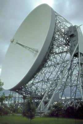 Photograph - Jodrell Bank Radio Telescope by Rod Jones