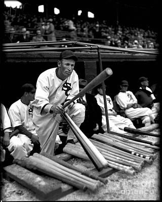 Shortstop Photograph - Joe Chamberlain - Chicago White Sox by David Bearden