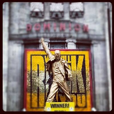 Musical Photograph - #joe #london #dominion #theatre #queen by Joe Mitchell