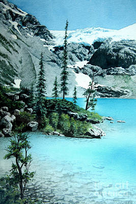Painting - Joffre Lake by Frank Townsley