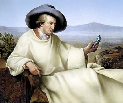 Johann Von Goethe, German Author Art Print by Smetek