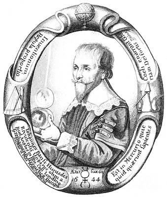 1576 Photograph - Johannes Huniades, Hungarian Alchemist by Science Source