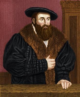 Johannes Kepler, German Astronomer Art Print by Maria Platt-evans