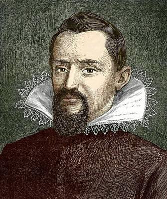 Johannes Kepler, German Astronomer Art Print by Sheila Terry