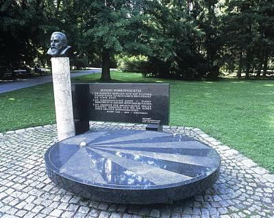 Johannes Kepler Monument, Austria Art Print by Martin Bond
