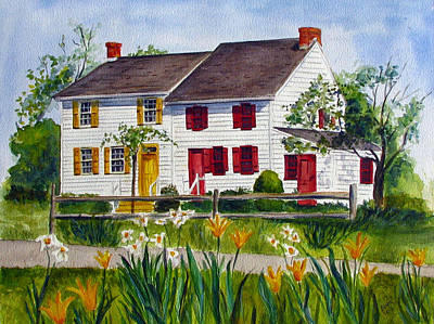 Painting - John Abbott House by Clara Sue Beym