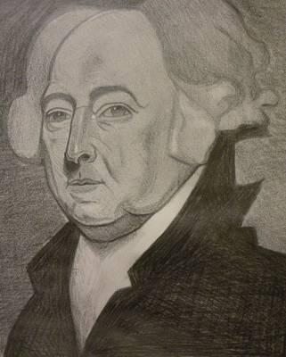 President Adams Drawing - John Adams by Jeremiah Cook