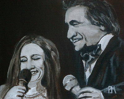 Nashville Painting - John And June by Pete Maier
