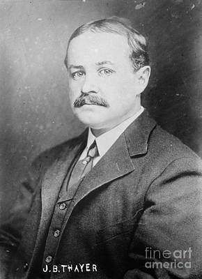 The Titanic Photograph - John Borland Thayer by Granger