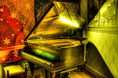 Photograph - John Broadwood And Sons Grand Piano by Semmick Photo