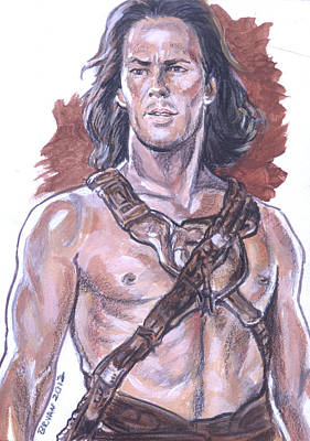 Painting - John Carter by Bryan Bustard
