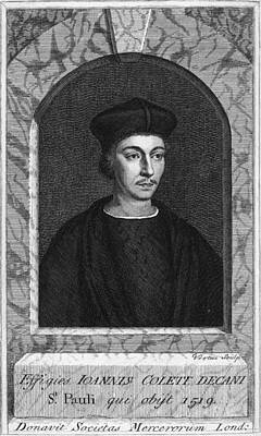 John Colet, English Humanist Theologian Art Print
