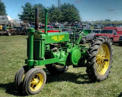 Tractor Photograph - John Deer Gp by Mark Dodd