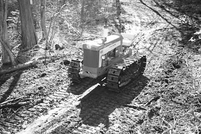 John Deere Tractor Art Print