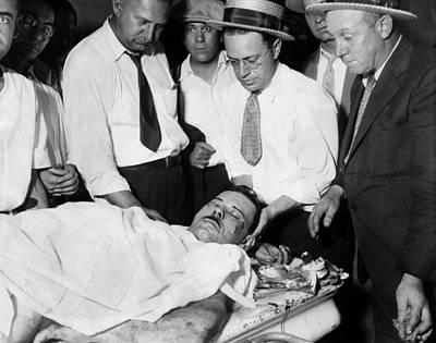 Escapees Photograph - John Dillinger, Public Enemy No.1 by Everett