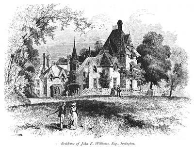 John E. Williams Residence Art Print by Granger