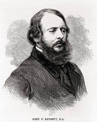 Luminism Photograph - John F. Kensett 1816-1872, American by Everett