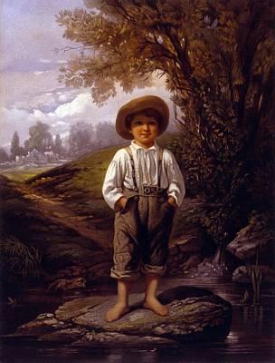 Abolition Photograph - John Greenleaf Whittiers 1807-1892 by Everett
