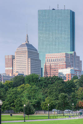 Photograph - John Hancock Building And Boston Skyline by Clarence Holmes
