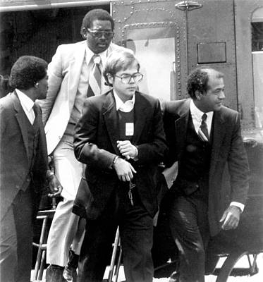 1980s Portraits Photograph - John Hinckley, Jr., With Federal by Everett