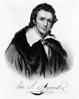 John James Audubon, French-american Art Print by Photo Researchers, Inc.