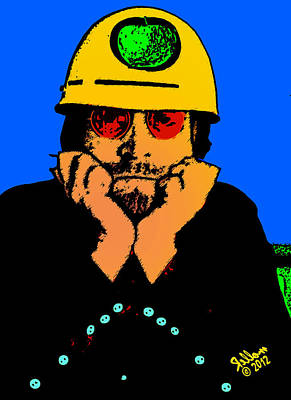 Apple Records Digital Art - John Lennon Apple by Che Rellom