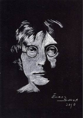 John Lennon Art Print by Eamon Gilbert