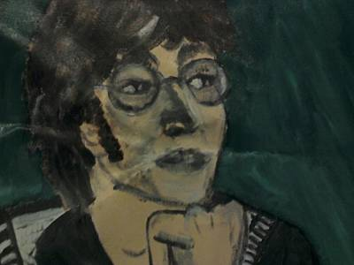 Painting - John Lennon by Julie Butterworth